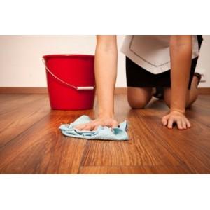 Как мыть полы из ламината?