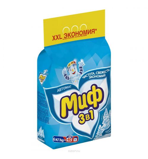 Стиральный порошок МИФ автомат 6 кг. 1/1