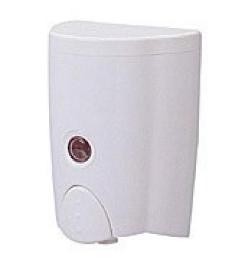 Диспенсер для жидкого мыла, пластик, белый 530 мл. FD-38 Optima standart