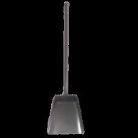 Совок для мусора металлический (на длинной ручке)