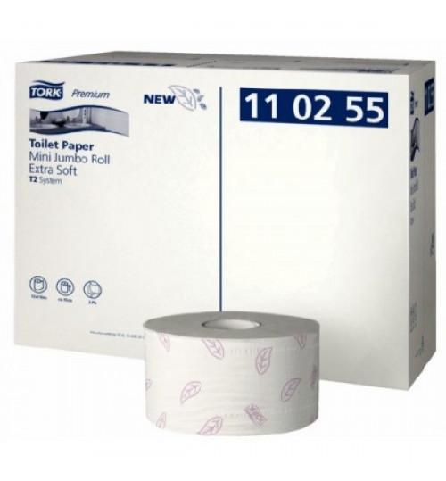 110255 Tork туалетная бумага в мини рулонах ультрамягкая T2