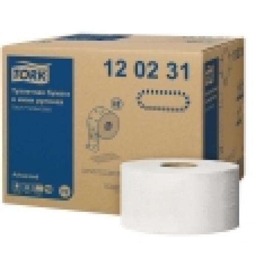 120231 Tork туалетная бумага в мини рулонах T2 2 сл. 170 м. 1/12