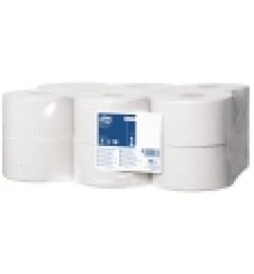 120197 Tork туалетная бумага в мини рулонах T2 1 сл. 200 м. 1/12
