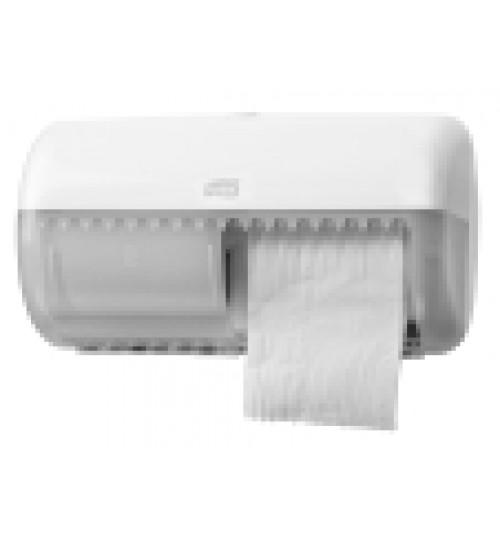557000 Tork диспенсер для туалетной бумаги в стандартных рулонах белый T4