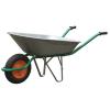 Тачка садовая 65 л./80 кг оцинк. 1 колесо ( пневмо колесо) 330 мм.