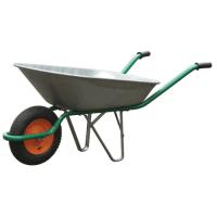 Тачка садовая 60 л./130 кг оцинк. пневмо колесо 330 мм оцинков.