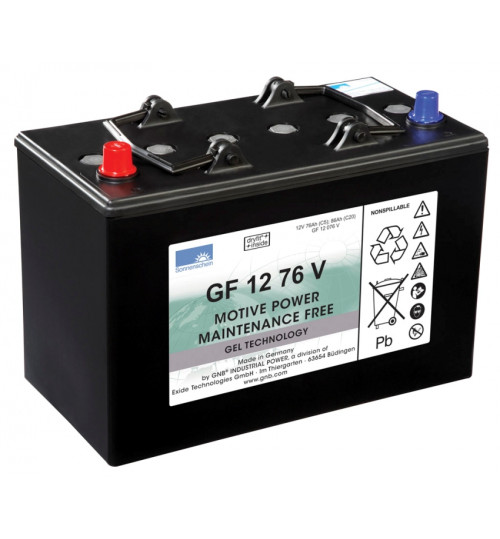 Аккумулятор 76А на RA 431B, RA 501B, RA 535 IBCT (1 шт) Cleanfix