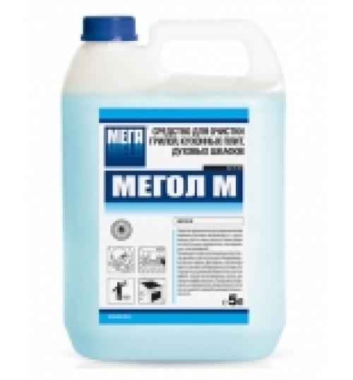 Мегол М - средство для очистки нагаров кухонных плит, грилей, духовок (5л)