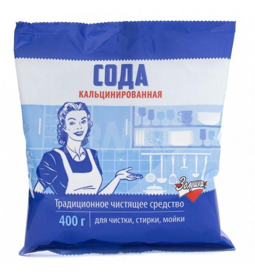 Сода кальцинированная Золушка 400 гр. 1/10