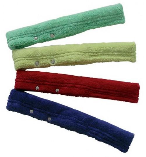 Шубка для окон 25 см. микрофибра (зеленый, желтый, бордовый, синий) 7141925 Euromop