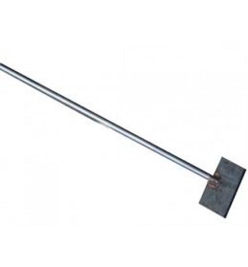 Скребок-ледоруб 200х100х4мм с металлической ручкой