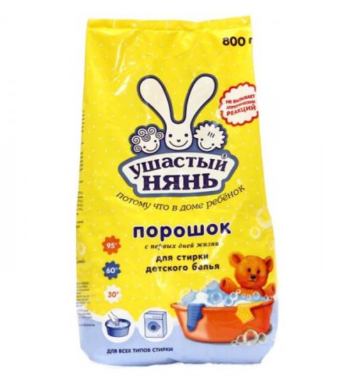 Стиральный порошок Ушастый Нянь автомат 800гр. 1/16