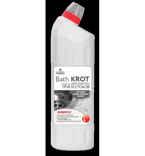 Средство для устранения засоров в трубах PROSEPT Bath Krot 1 л.