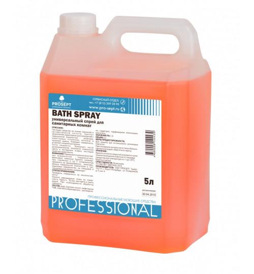 Универсальное средство для удаления ржавчины и известковых отложений PROSEPT Bath Spray 5л. 1/4