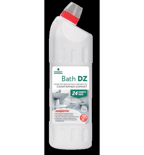 Средство для мытья и антимикробной обработки санитарных комнат PROSEPT Bath DZ 1 л. 1/12