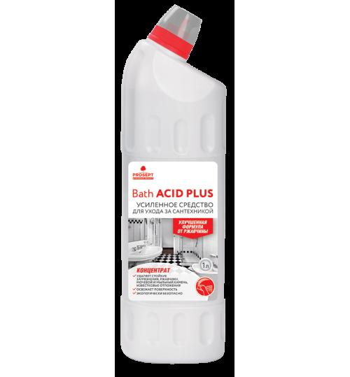 Чистящее средство для удаления ржавчины и минеральных отложений (усиленное) PROSEPT Bath Acid+ 1 л.