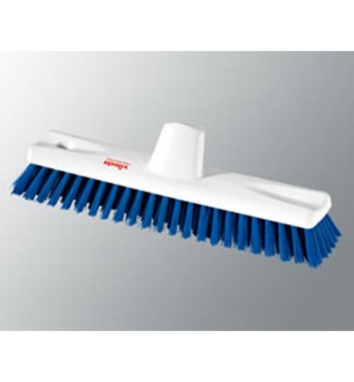 Жесткая чистящая щетка с коротким ворсом 30 см, синий 145884 Vileda