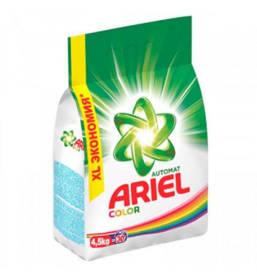 Стиральный порошок Ариэль автомат для цветного белья Колор  4,5 кг. 1/4