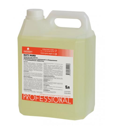 Средство для чистки производственных помещений и оборудования PROSEPT Duty Hard 5 л.