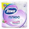 Туалетная бумага Zewa Plus 2-х слойная, 4 рул./уп. (а) 1/24