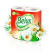 Полотенца бумажные в рулоне2-х слойные 2 шт/уп. Belux 1/12