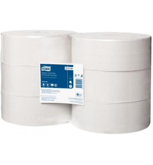 Туалетная бумага 1 сл. 525 м. Tork Universal 1/6 120195