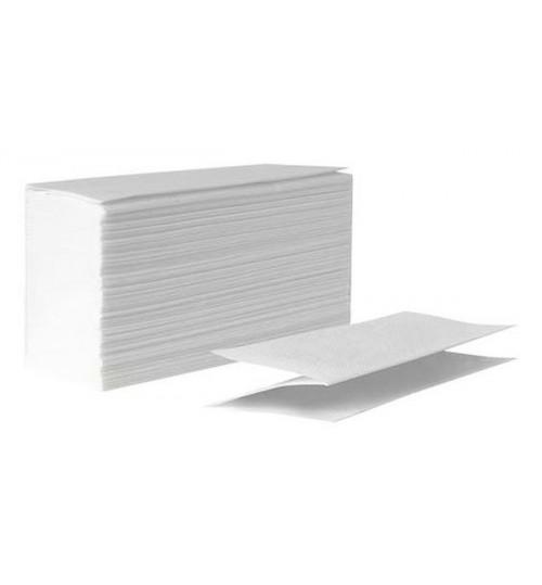 Бумажные листовые полотенца Belux professional  Z-сложения  2-сл. 150 л. белые 1/18