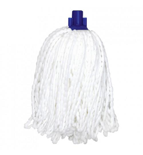 Насадка для швабры кентукки моп веревочный микрофибра (на резьбе) C-013LUX