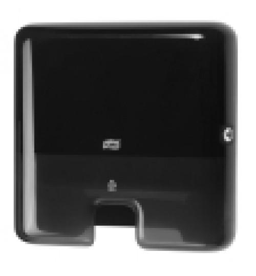 552108 Tork Xpress диспенсер для листовых полотенец сложения Multifold черный мини H2