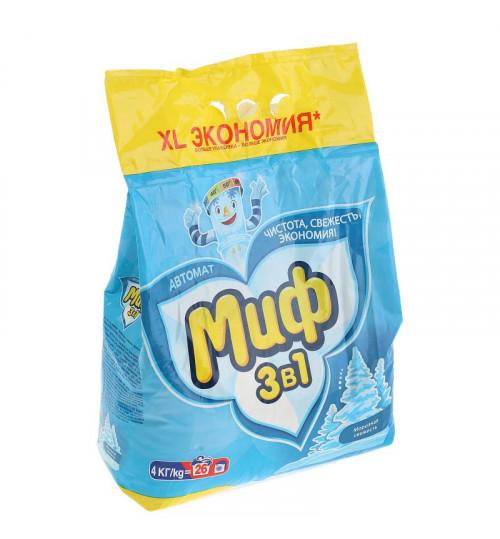 Стиральный порошок МИФ автомат 4 кг. 1/2/4