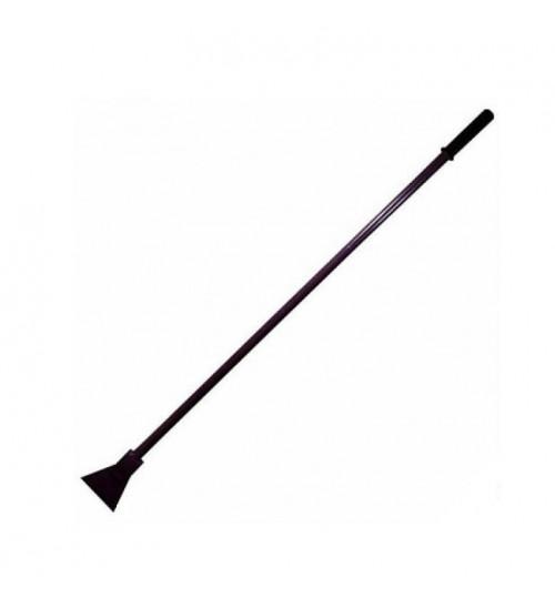 Ледоруб - топор (сварной) Б-2 с металлическим черенком пласт. ручкой L-1200 4 мм.