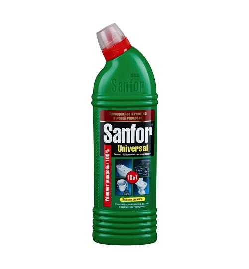 Гель для чистки и дезинфекции ванной комнаты 10 в 1