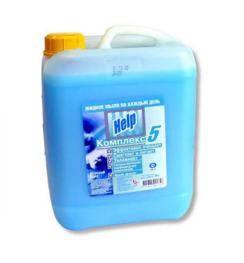 Жидкое мыло HELP 5 л. (а)