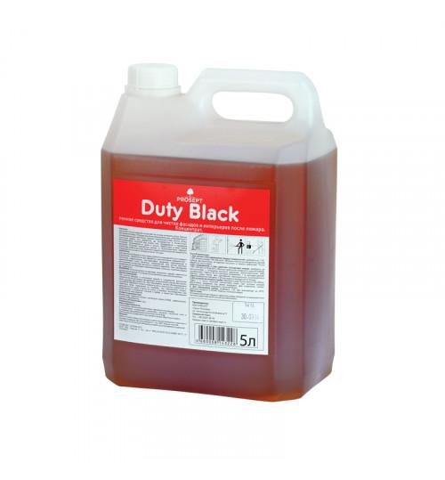 Пенное средство для чистки фасадов и интерьеров после пожаров PROSEPT Duty Black 5 л.