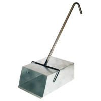 Совок ловушка металлический с Г-обр. металлической ручкой 51-935