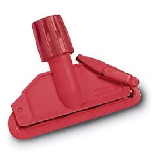 Держатель мопа кентукки пластик с пластиковой клипсой красный 6900003.02 Euromop