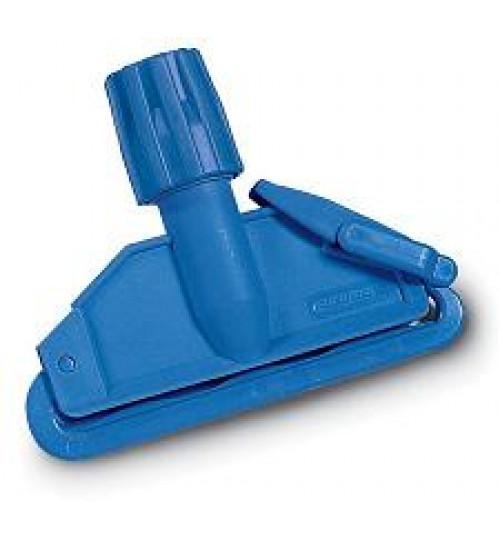 Держатель мопа кентукки пластик с пластиковой клипсой синий 6900003.15 Euromop