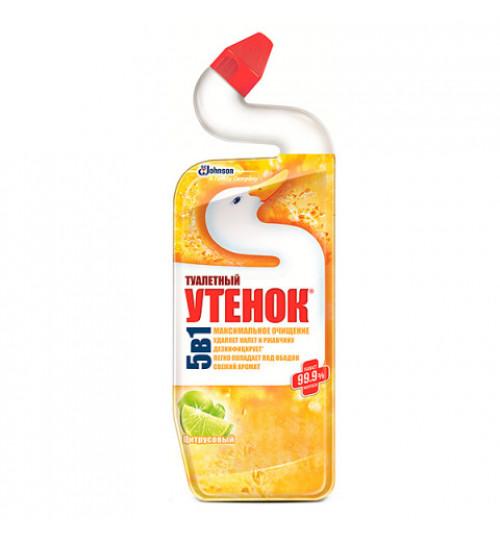 Чистящее средство для унитаза Туалетный утенок Актив 750 мл. (а) 1/12