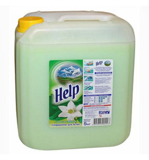 Кондиционер - ополаскиватель для белья HELP 5 л.