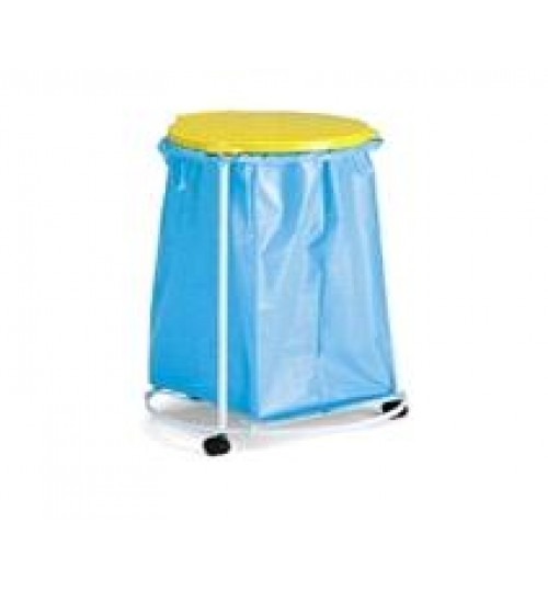 Тележка для мусорного мешка 70 л. хром 1003329 ACG