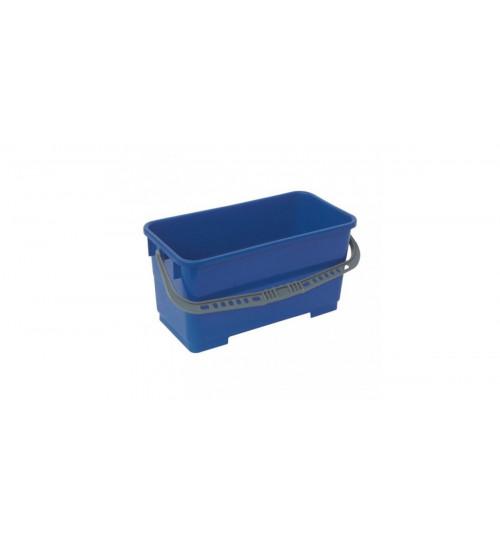 Ведро для мытья окон 20 л. прямоугольное (синее) 1003040 ACG