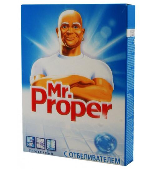 Mr. Proper универсальный отбеливающий порошок 400 гр. 1/22