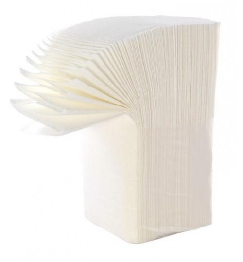 Полотенца бумажные листовые Терес Стандарт Z-сложения 1-сл. 200 л. 22*23 белые Т-0246 1/15