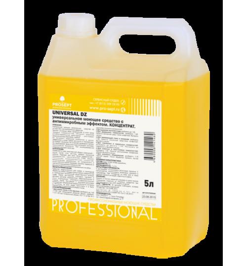 Универсальное моющее и чистящее средство с дезинфицирующим эффетом PROSEPT Universal DZ 5 л.