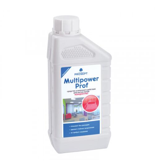 Средство усиленного действия для мытья напольных покрытий PROSEPT Multipower Prof 1 л.