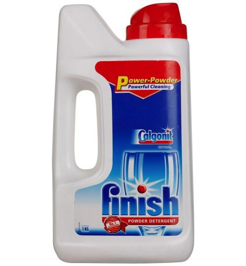 Калгонит FINISH для посудомоечной машины основное средство 1 кг. 1/12