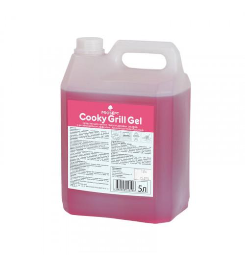 Средство для чистки духовых шкафов с антимикробным эффектом PROSEPT Cooky Grill Gel 5 л.