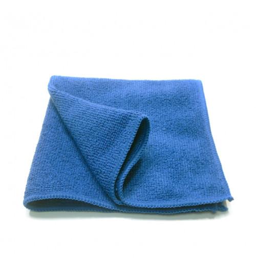 Салфетка микрофибра 40х40 см. синяя 280g/pc