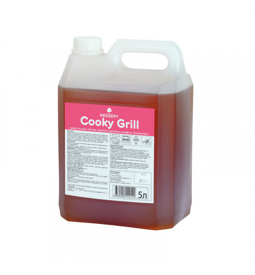 Средство антижир для чистки гриля и духовых шкафов (аналог Шуманита) PROSEPT Cooky Grill 5 л. 1/4