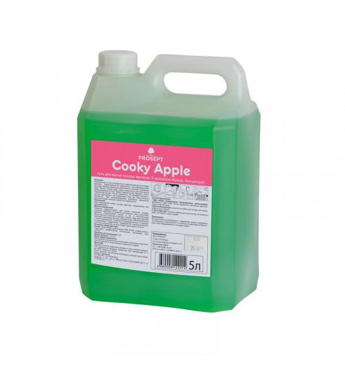 Средство для мытья посуды с ароматом яблока PROSEPT Cooky Apple 5 л. 1/4